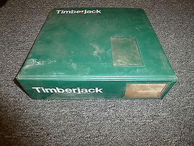 Timberjack Models 560 660 Skidder Shop Service Repair Bulletin Manual Book