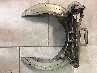 Mathey Dearman Manual Pipe Beveler Beveling Machine 12 Diameter