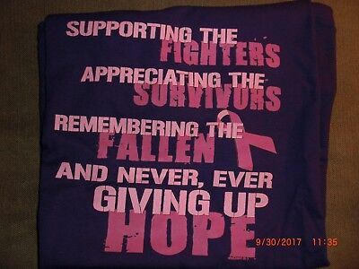 BREAST CANCER HOPE- T-SHIRT