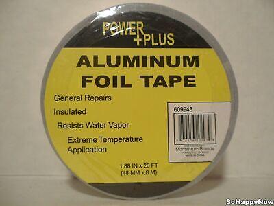 1 Pack Brand New Aluminum Foil Heat Shield Tape 1.88 X 26 Ft Us Seller