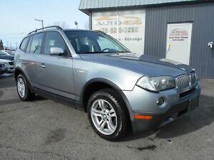 BMW X3 2007 ***AWD, TOIT OUVRANT, ATTACHE-REMORQUE***