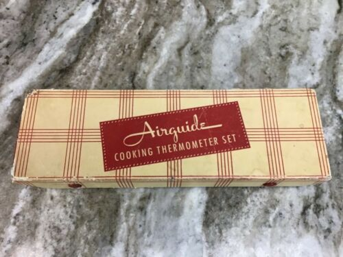 Vintage Airguide Cooking Thermometer Set