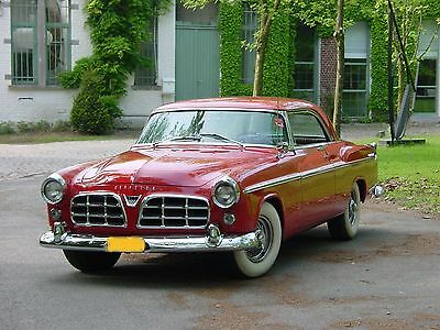1955 Chrysler 300 Series : CHRYSLER WINDSOR customized V8   1955