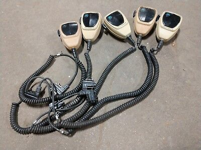 Lot Of 5 Motorola Microphone Maratrac Astro Spectra Syntor Systems 9000 W9 W5