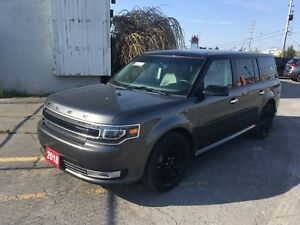 2018 Ford Flex Limited AWD- Backup Cam, Nav, Heated Seats.