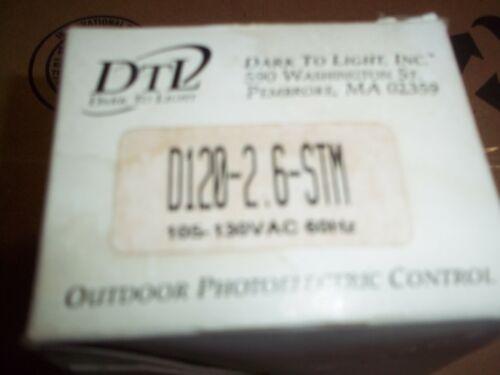 DTL   OUTDOOR  PHOTOELECTIC  PART NUMBER  D120-2.6-STM