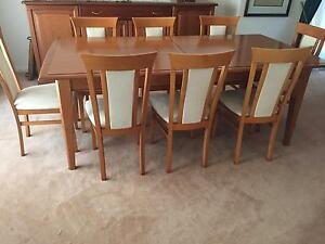 Dining suite with sideboards North Ryde Ryde Area Preview