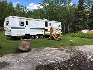 Trailer and lot for sale at Beauty Ba
