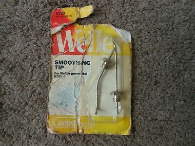 Weller C420 Soldering Gun Smoothing Tip Nuts For Model 8200 New In Old Package