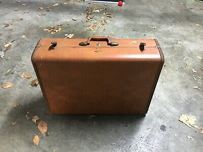 SAMSONITE Vintage Shwayder Bros Denver Hard Shell Suitcase