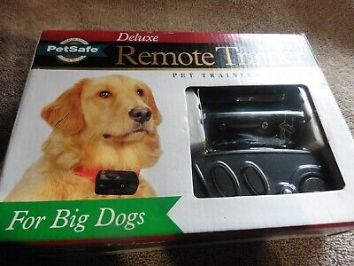 PetSafe Deluxe Remote Trainer for Big Dog PDBDT305 Pet Train System Shock Collar