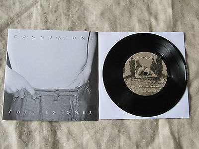 Communions Cobblestones SOLD OUT FIRST PRESS BLACK VINYL Single (7-Inch) 2000s](First Communions)