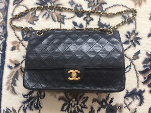 Authentic vintage Chanel Classic Flap bag
