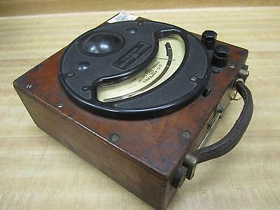 General Electric 355632 Vintage Industrial Amp Meter Wo Lid Antique