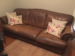 Leather Lounge Enfield Burwood Area Preview