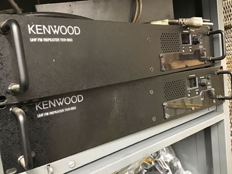 Kenwood TKR-850 Repeater Qty 1