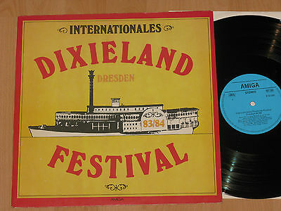 LP INTERNATIONALES DIXIELAND FESTIVAL DRESDEN 83/84 - ALLOTRIA JAZZBAND