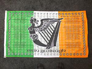 Soldiers Song Irish Republican Flag Ireland Celtic Erin Celts Bhoys Sports 5x3