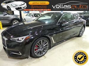 2017 Infiniti Q60 S 3.0T| RED SPORT 400| COUPE| AWD