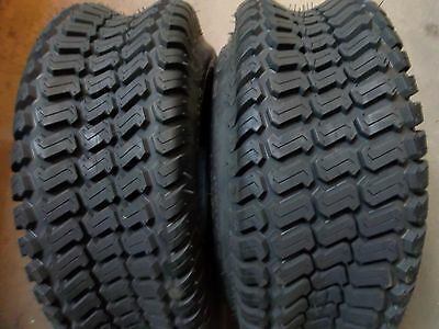 12 Turf Tread Tire - TWO 23/8.50-12, 23/8.50x12 Lawnmower/Golf Cart Turf Tread 4 ply Tubeless Tires