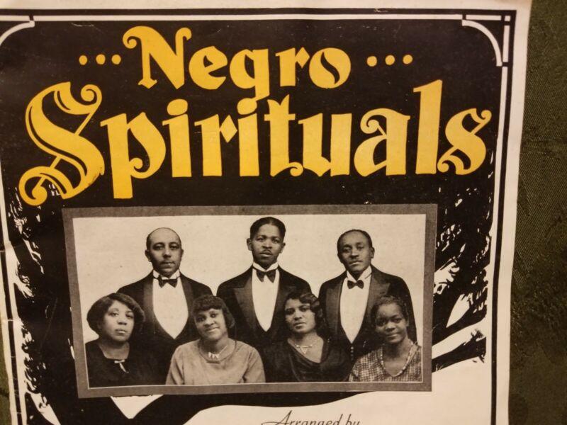 African American Spirituals by Pace Jubilee Singers 1927 Black Gospel Songs