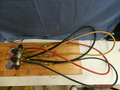Jb Industries Manifold Gauge 4-valve