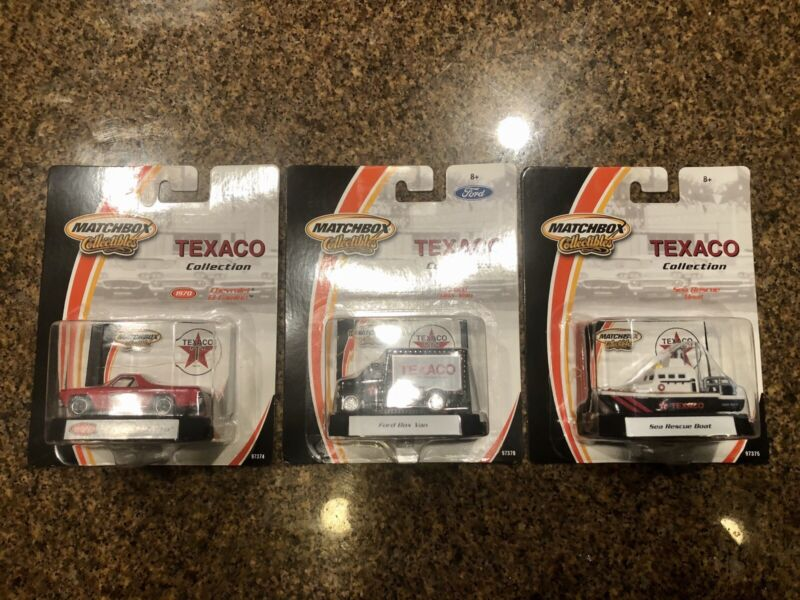 Matchbox Texaco Collectibles Lot Of 3 Sealed 1:64