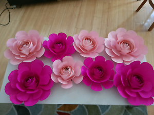 Paper flowers party hire gumtree australia whittlesea area paper flowers mightylinksfo