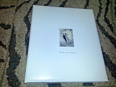 Hallmark Boda Álbum de Fotos Recortes 3 Anillo Invitados & Libro Memoria...