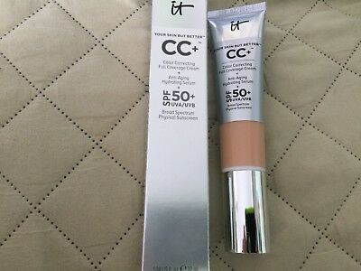 It Cosmetics Your Skin But Better CC+ Full Coverage Cream SPF 50 Light Medium