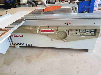 Panel saw and Edgebander