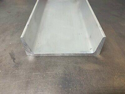 Aluminum Channel 6061 6x 1.95x 12 American Standard