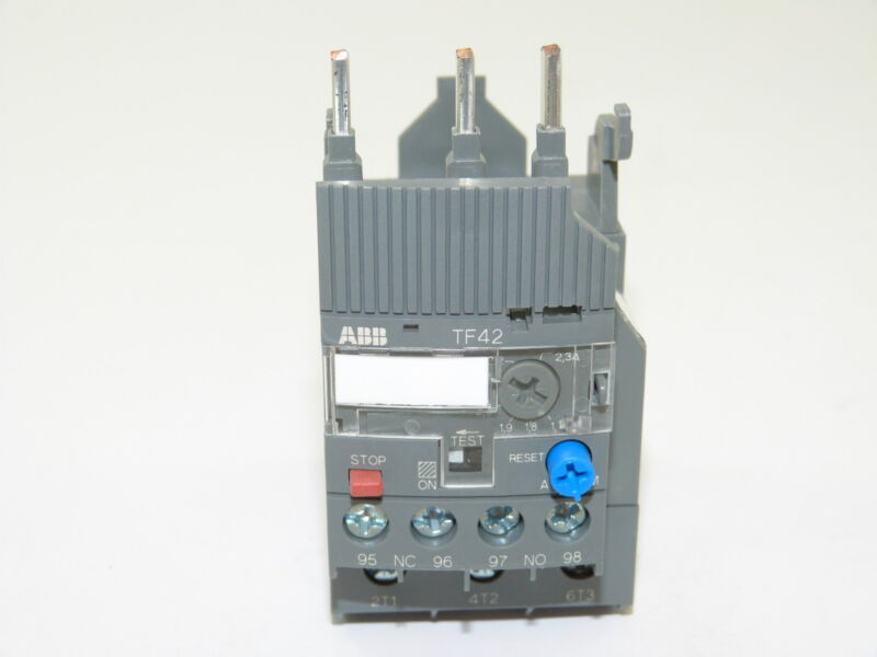 ABB TF4223 Thermal Overload Relay 1.7-2.3a NEW 1yr Warranty