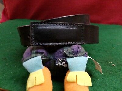 Mechanic's or Mover's No Scratch Buckle Real Cowhide Leather  - Leather No Scratch Buckle Belt