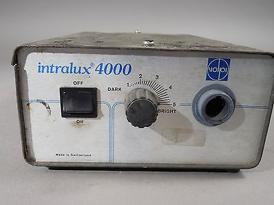 Volpi Intralux 4000 Fiber Optic Illuminator Light Source