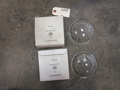 John Deere Ih Farmall Light Lens 4.75 350478r1 Nos