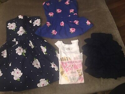 Abercrombie Girls Size 14 Large Lot Of 4 Pieces Spring Summer Clothes NYC Shirt