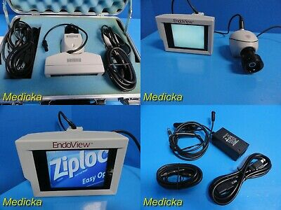 Uro Health Endoview Hand-held Video Endoscope System W Monitorccd Camera18357