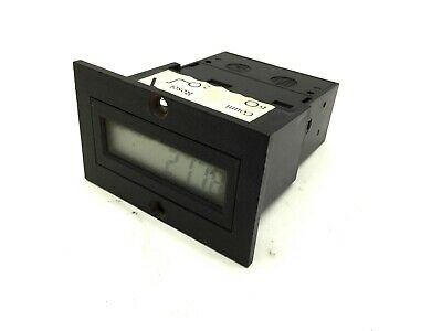 Ivo Industries N103.030e Counter Voltage 24vdc 8 Digits Input Frequency 25hz