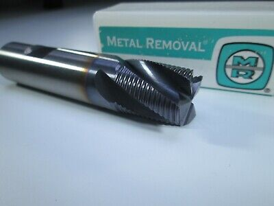 New Solid Carbide 34 Roughing End Mill 4 Flute Milling Rougher Lathe Tool Bit