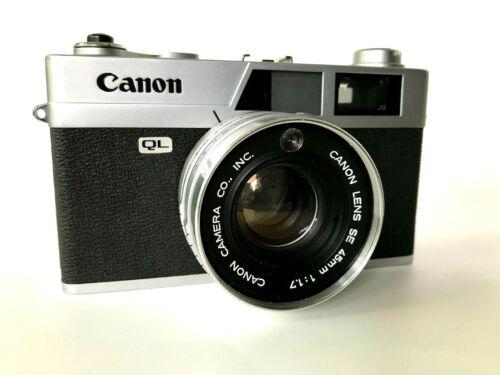 Canon Canonet QL17 Canon Lens SE 45mm 1:1.7