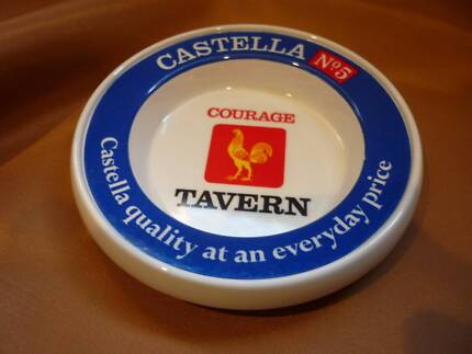 CASTELLA No.5 COURAGE TAVERN Ashtray Made in Great Britain.