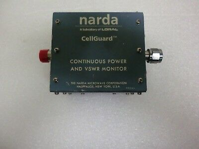 Narda Loral Cel8450rd Cellguard Continuous Power Vswr Monitor