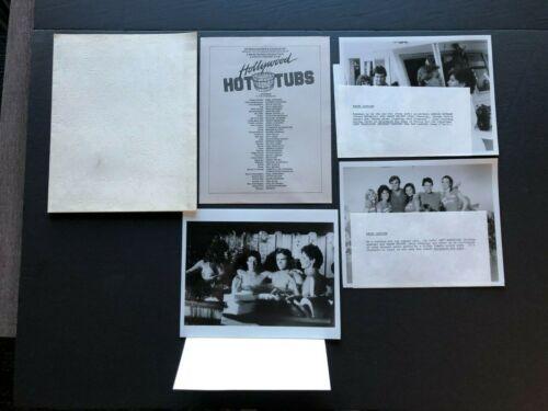 Hollywood Hot Tubs (1984) - Movie Press Kit Envelope w/Press Photos & News