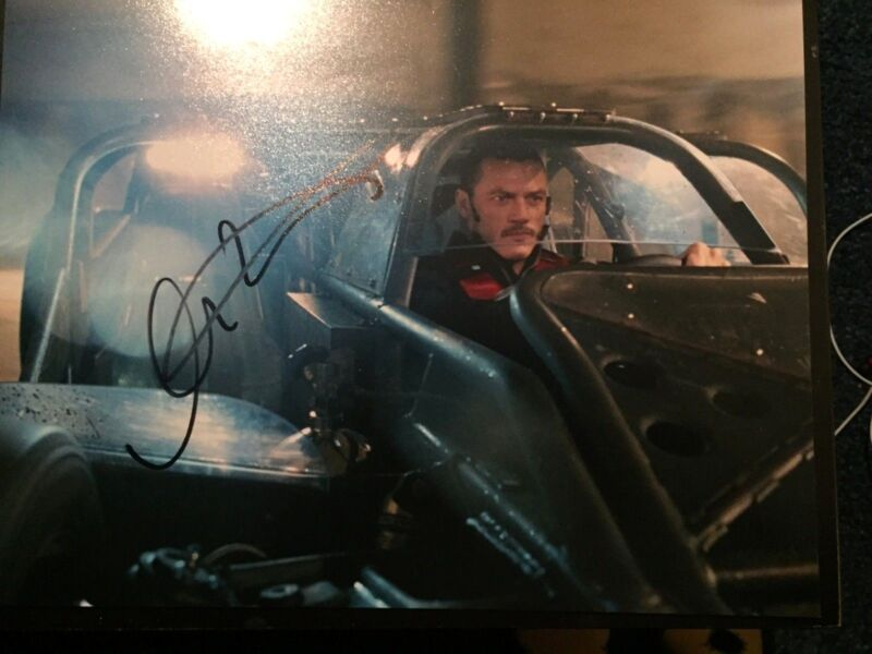 Fast & Furious Luke Evans Autographed Signed 11x14 Photo COA