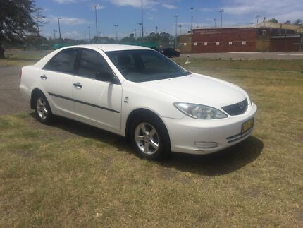 2002 Toyota Camry Automatic 2.4 litre four cylinder
