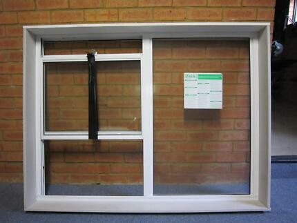 DOUBLE HUNG AND FIXED PANEL ALUMINIUM WINDOW H: 1140 W: 1520 Gladesville Ryde Area Preview