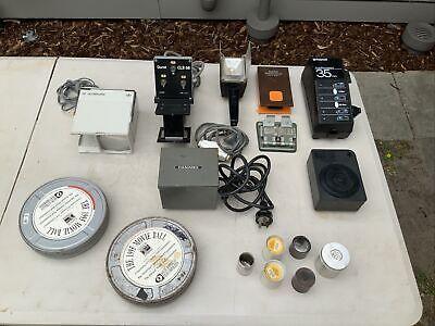 Bulk Lot Vintage Camera Gear; Polaroid Autoprocessor; Hama Durst Agfascop etc.