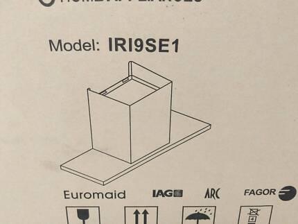 IRI9SE1 - Stainless Steel Euromaid integrated rangehood