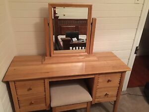 Large solid pine French dresser with mirror Naremburn Willoughby Area Preview